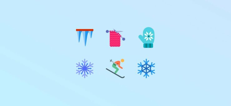 Frost and Snow: 20 Packs of Free Winter Clipart and Icons