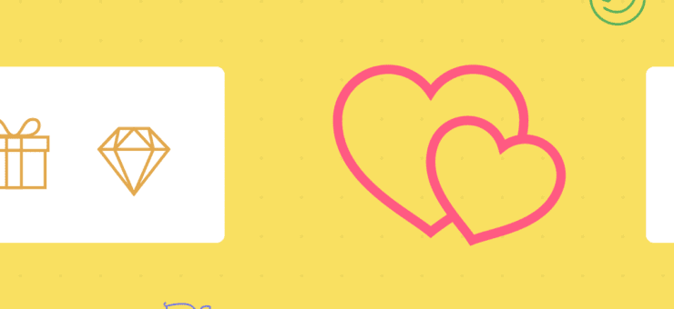 Romantic Design Freebie: Animated Icons for Valentine's Day