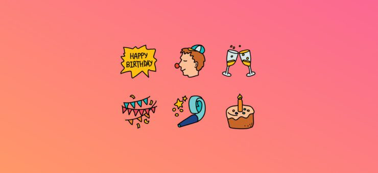 Happy Birthday to You: 22 Packs of Free Birthday Clipart and Icons
