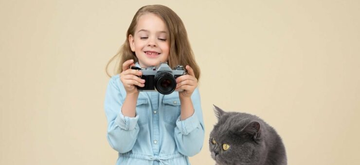 Save the Cat! 20 Funny Collage Photos with Cats for Your Projects