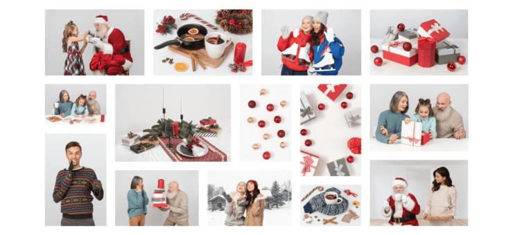 Big Christmas Freebie: Icons and Photos for Merry Holidays