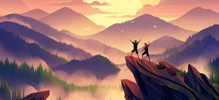 Digital Art: 25 Atmospheric Illustrations of Nature and Landscapes