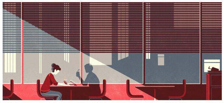 Digital Illustration: The Power of Contrast in Tom Haugomat's Art