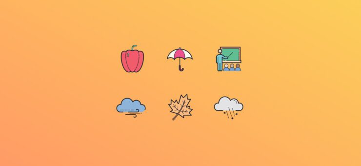 Autumn Vibes: 20 Packs of Free Fall Clipart and Icons