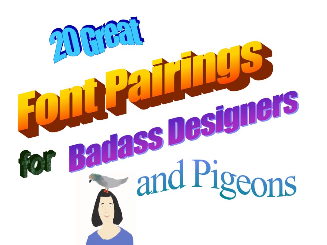 font pairing ui design