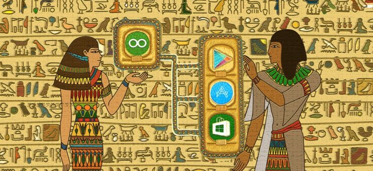 Egyptian Hieroglyphs Compared With Modern Design Guidelines