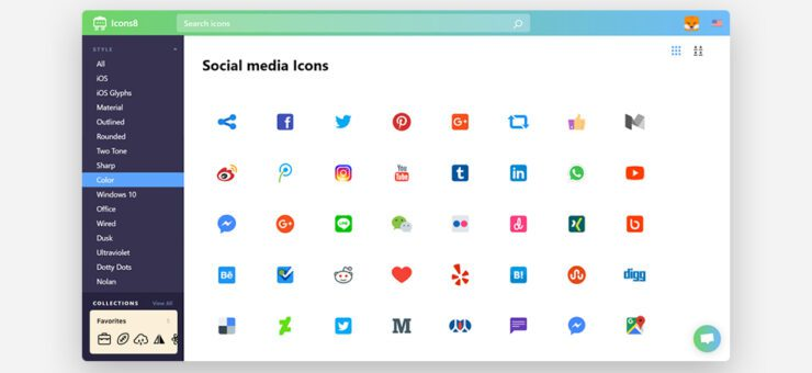 Icons8 UX: Web App Redesign for the Sake of Usability