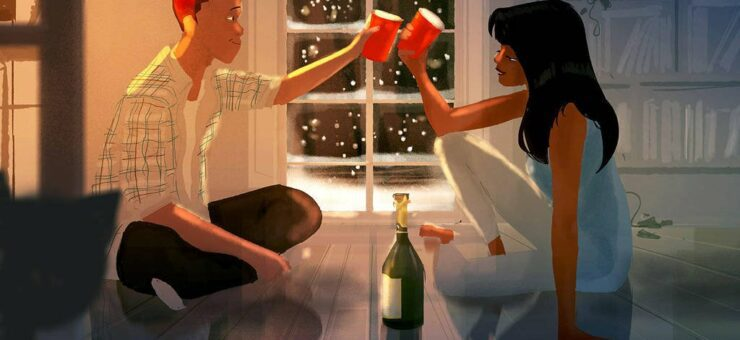 Love Is All You Need. 40 Romantic Digital Illustrations by Pascal Campion