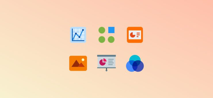 Showing Data: Clipart and Icons for Infographics in 20 Design Styles