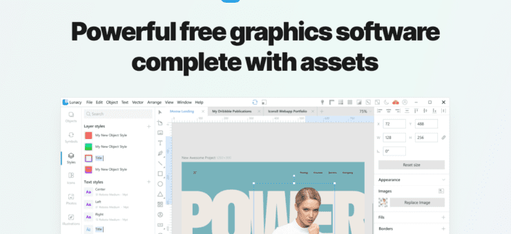 Lunacy 6: Free Sketch Alternative for Windows with Design Assets Built-In