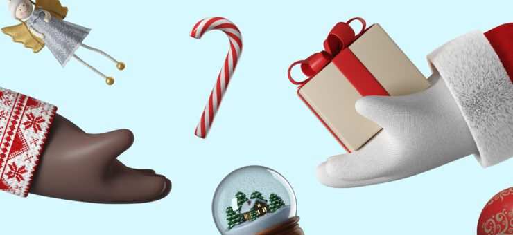 3D Christmas Decorations: Add Holiday Cheer to Your Designs
