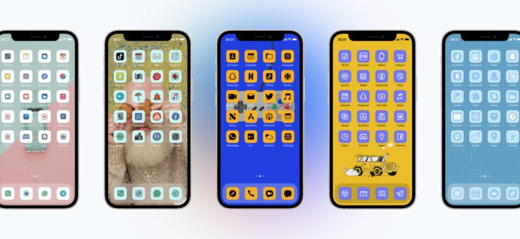Aesthetic Icons App: Personalize Your iPhone with Modern Icon Themes