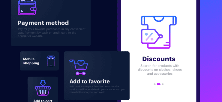 20 Stylish Packs of Gradient Line Icons
