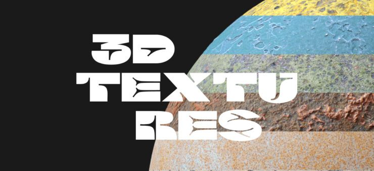 High-Quality PBR textures for ultra realistic 3D renders
