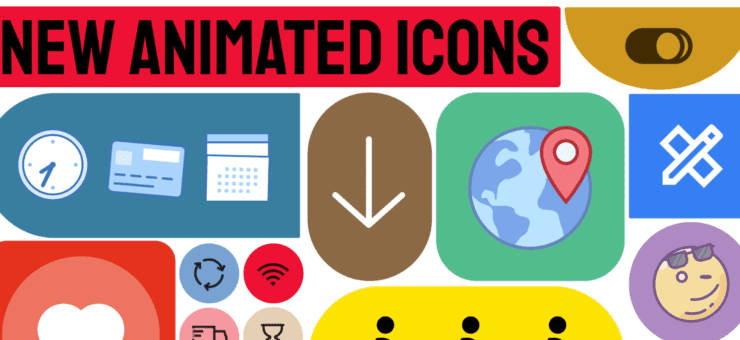 3,000+ engaging animated icons to enhance your projects