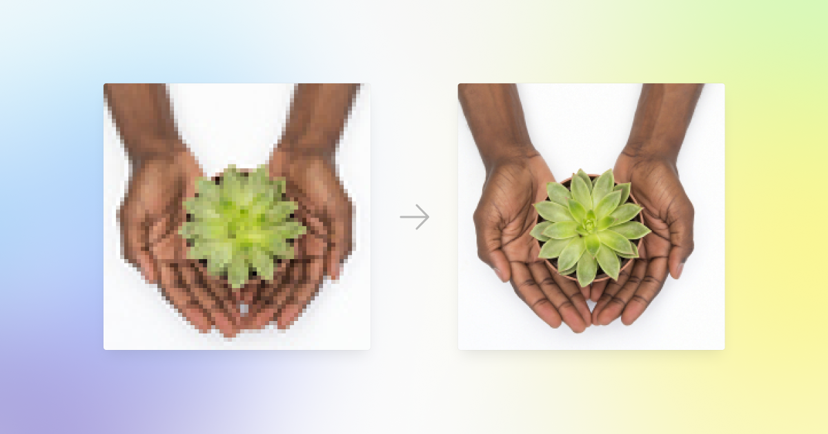 7 UX Best Practices for Designing your Blog Posts in 2021: low and high resolution image comparison