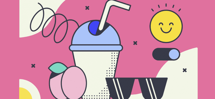Sunkissed: a collection of refreshing summer illustrations