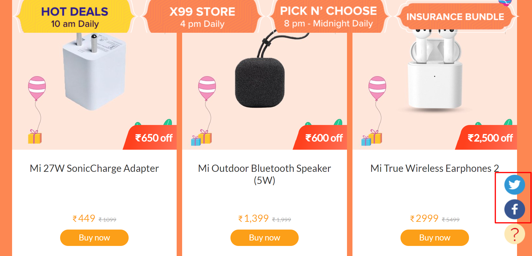 Things I Learned About Language Usage in Multilingual: Xiaomi product page in IndiaUI Design