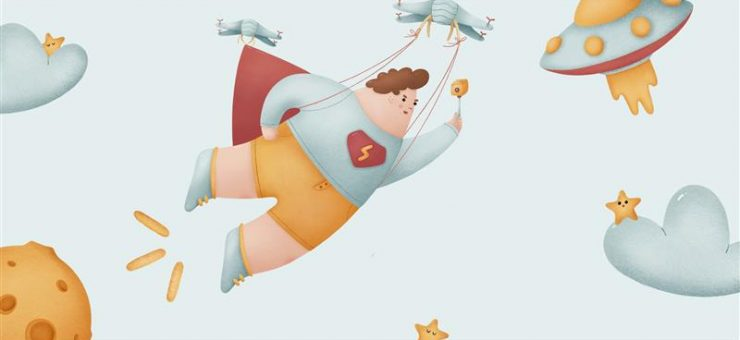 Woolly illustrations: Fairy illustrations to enchant you and your users